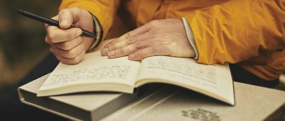Schreib es Dir einfach von der Seele